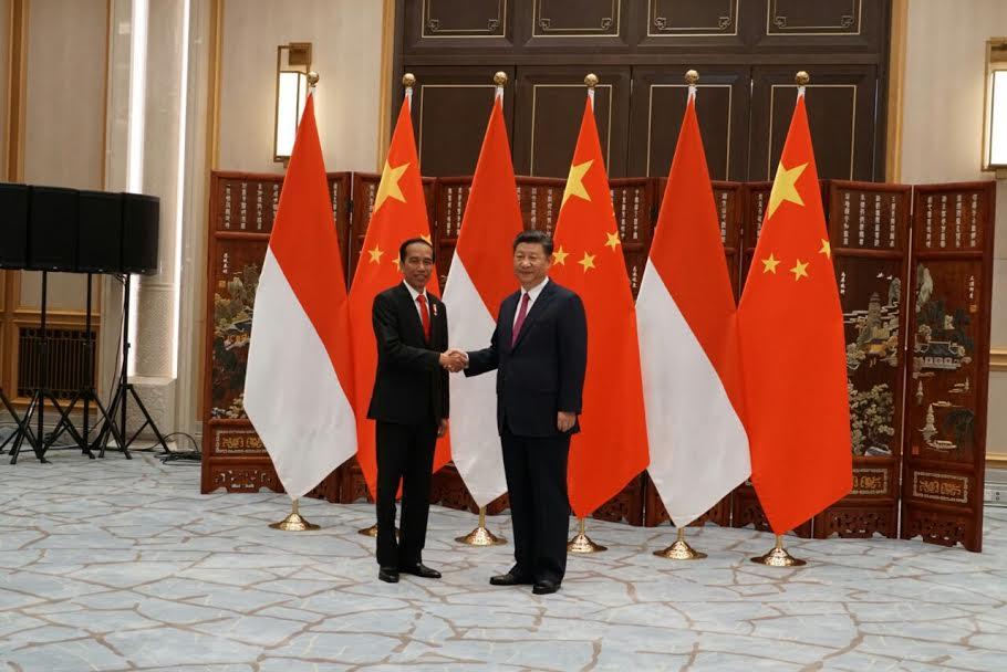 Presiden Jokowi Tamu Pertama Presiden Tiongkok, Hasilkan Kerjasama Ekonomi